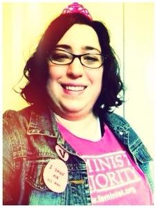 #feministselfie in a feminist shirt